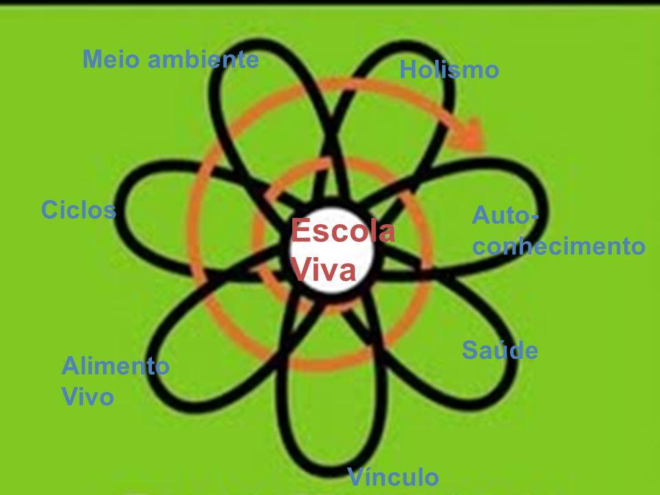 Escola Viva Meio ambiente Holismo Ciclos Auto-conhecimento Saúde