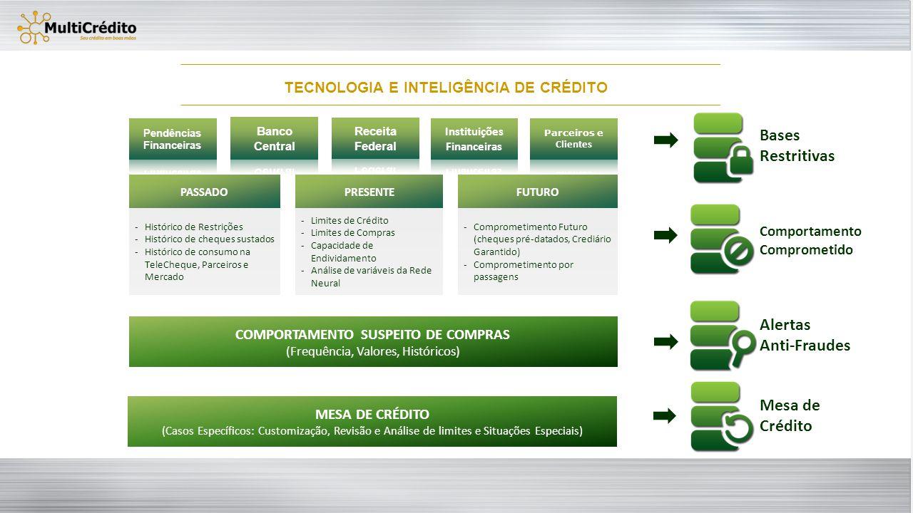 TECNOLOGIA E INTELIGÊNCIA DE CRÉDITO
