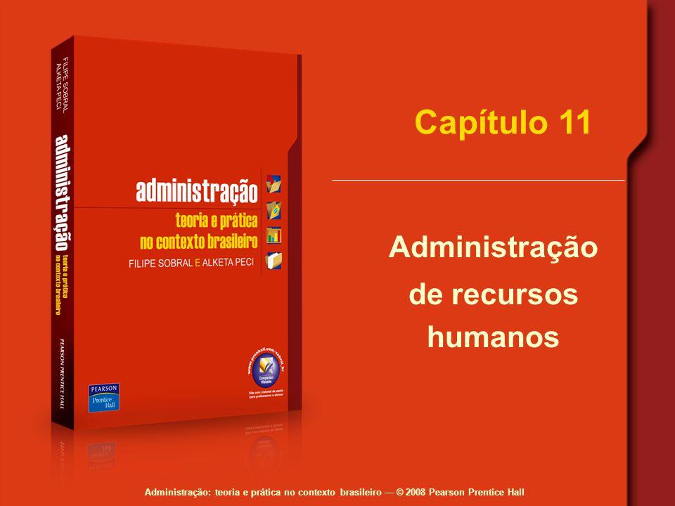 Capítulo 11 Administração de recursos humanos