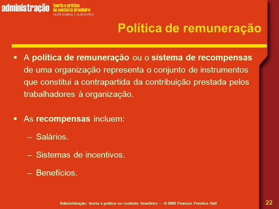 Política de remuneração