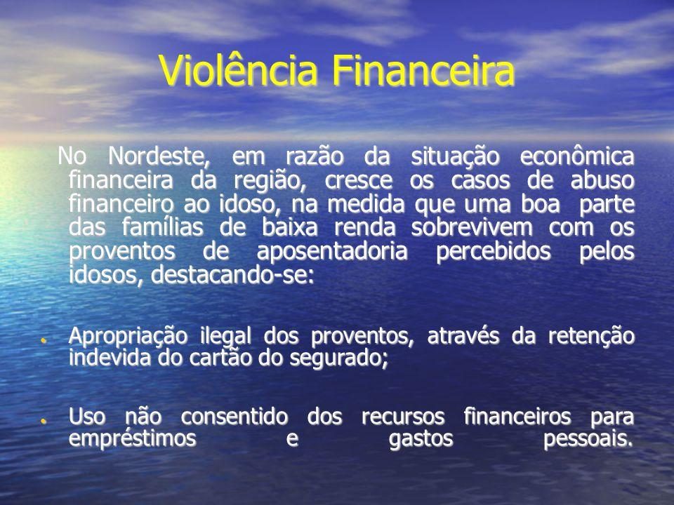 Violência Financeira