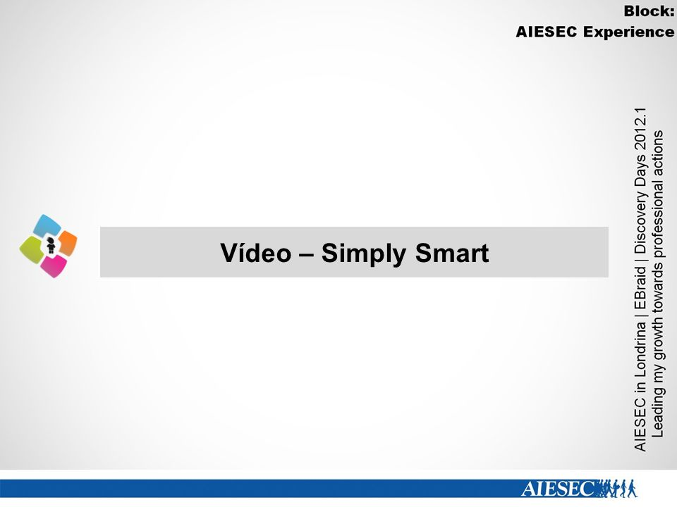 Vídeo – Simply Smart