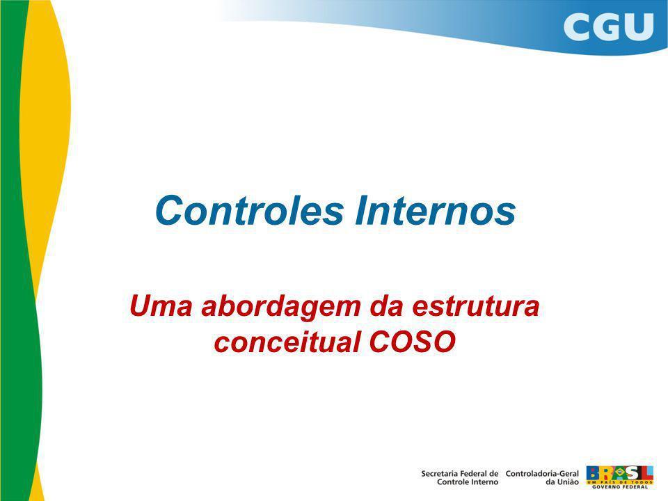 Uma abordagem da estrutura conceitual COSO