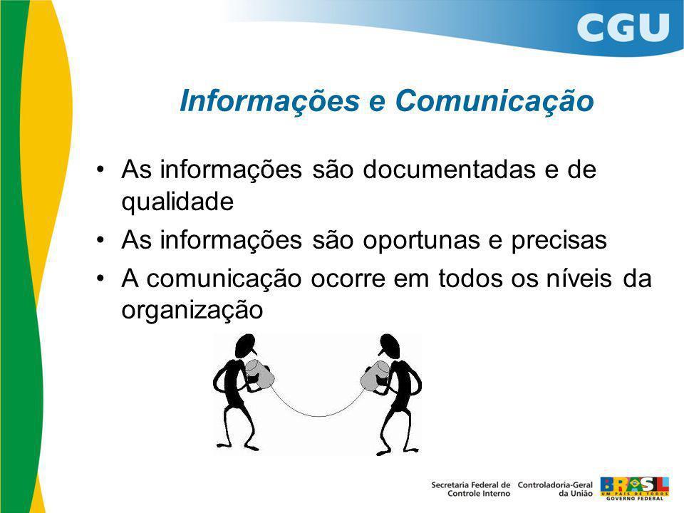 Informações e Comunicação