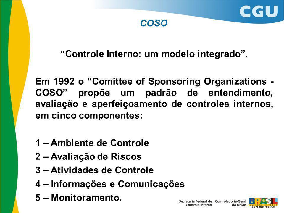 Controle Interno: um modelo integrado .