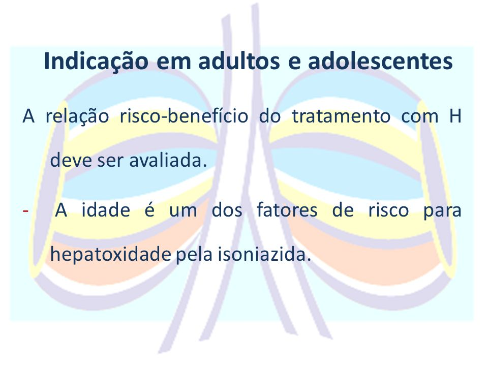 Indicação em adultos e adolescentes