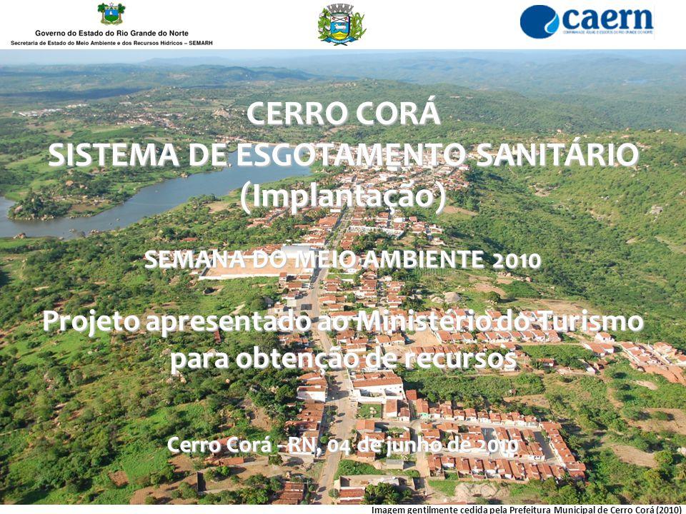 CERRO CORÁ SISTEMA DE ESGOTAMENTO SANITÁRIO (Implantação)