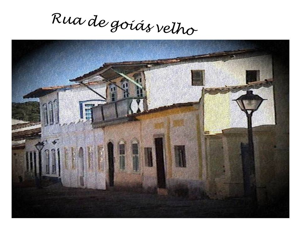 Rua de goiás velho