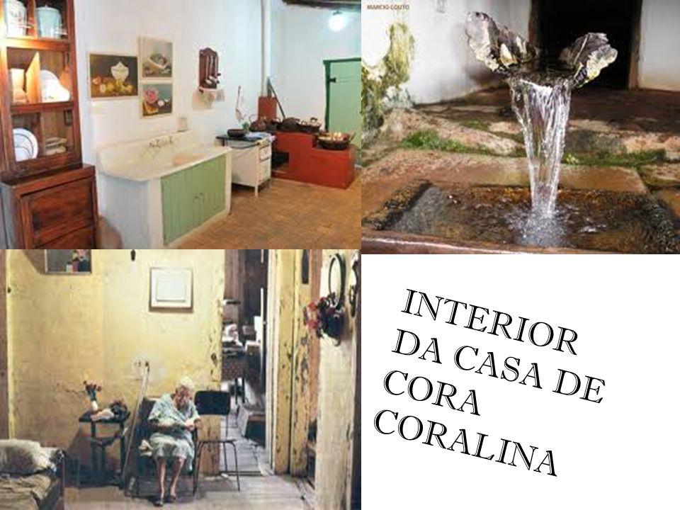 INTERIOR DA CASA DE CORA CORALINA