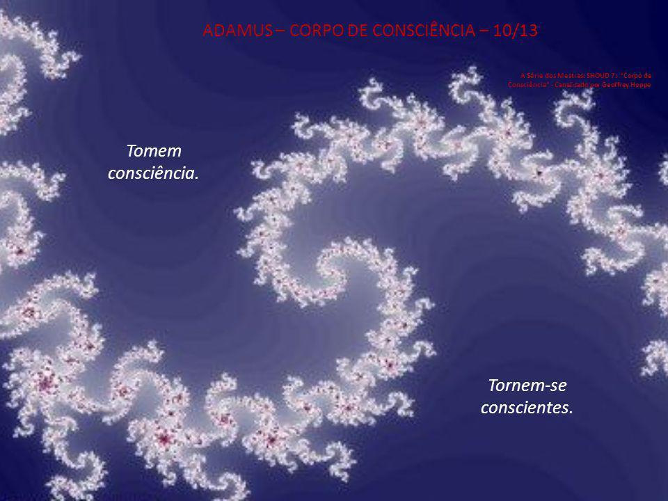 ADAMUS – CORPO DE CONSCIÊNCIA – 10/13