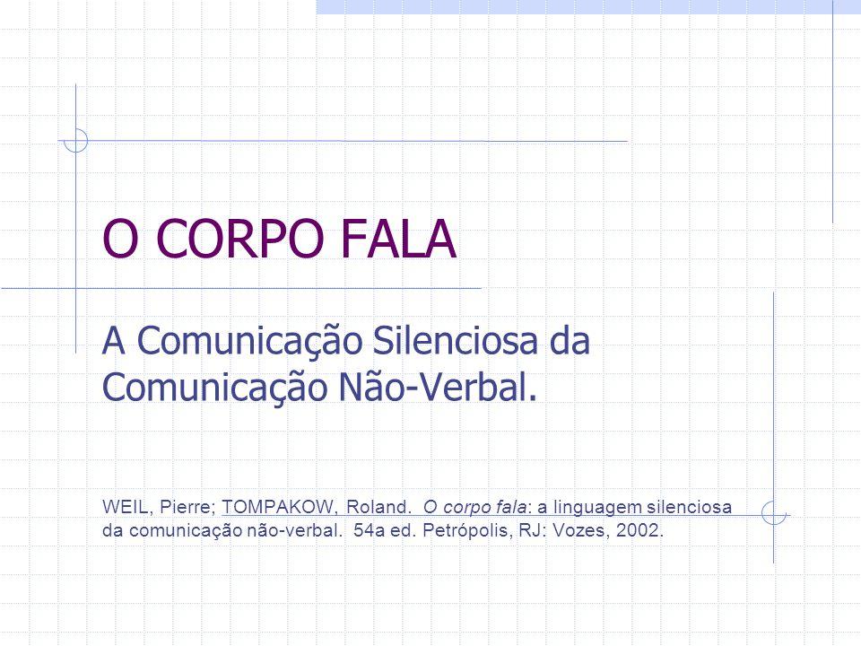 O CORPO FALA A Comunicação Silenciosa da Comunicação Não-Verbal.