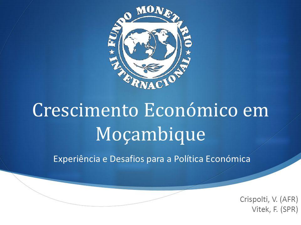Crescimento Económico em Moçambique