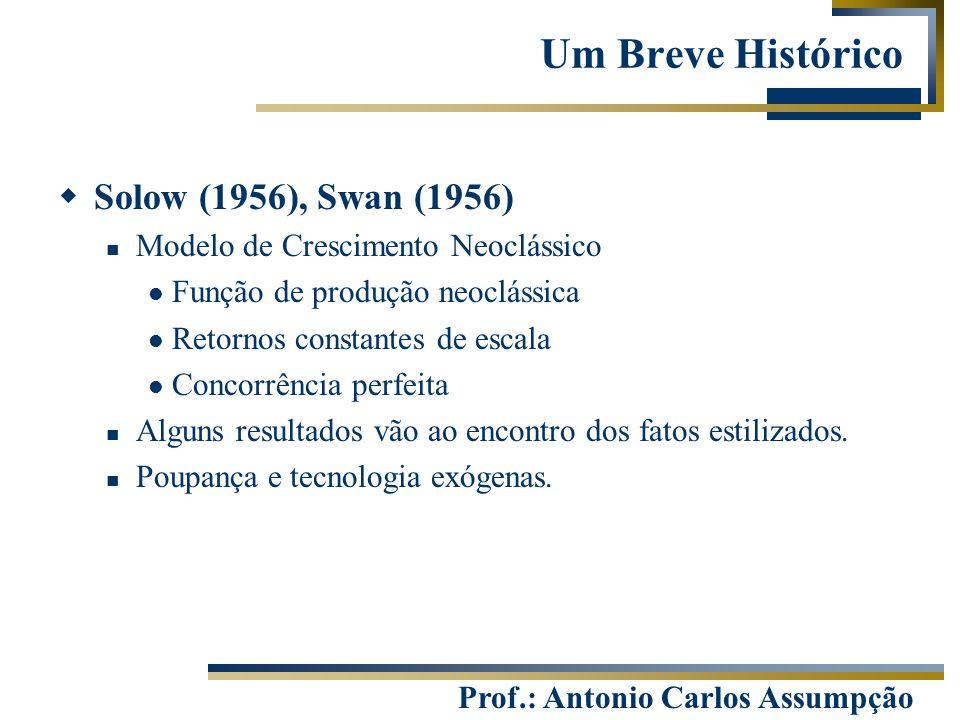 Um Breve Histórico Solow (1956), Swan (1956)