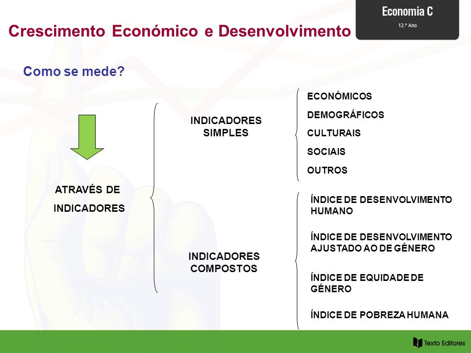 Crescimento Económico e Desenvolvimento INDICADORES COMPOSTOS