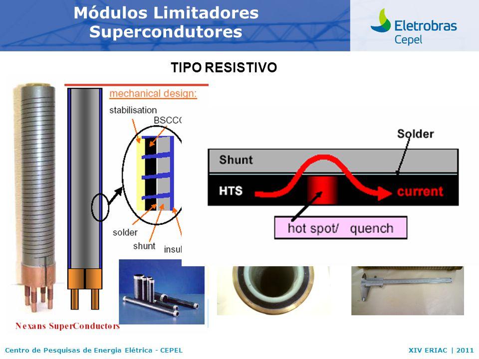 Módulos Limitadores Supercondutores