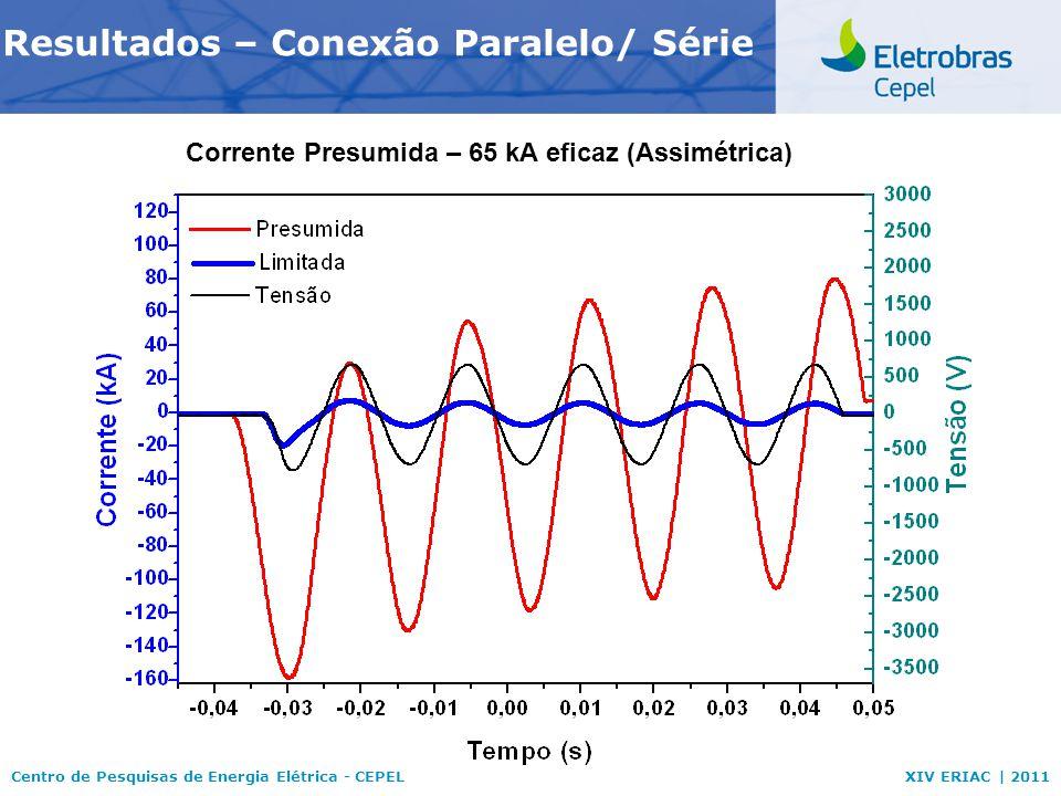 Resultados – Conexão Paralelo/ Série
