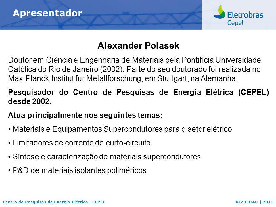 Apresentador Alexander Polasek