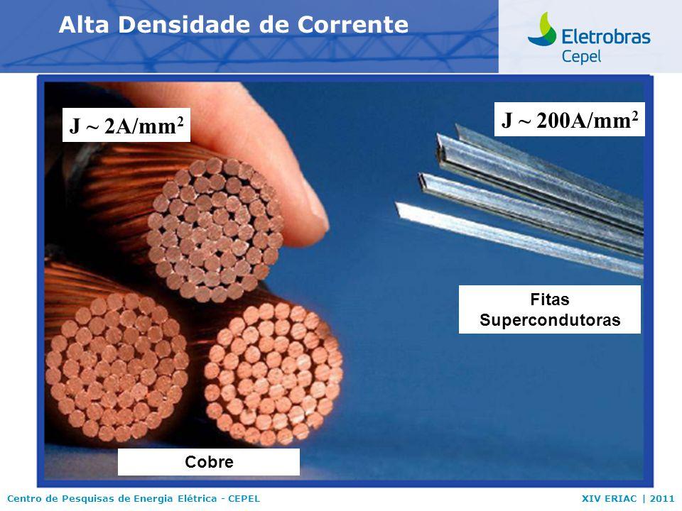 Alta Densidade de Corrente Fitas Supercondutoras