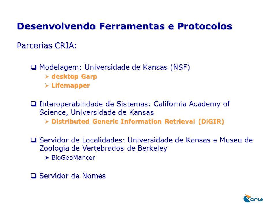 Desenvolvendo Ferramentas e Protocolos