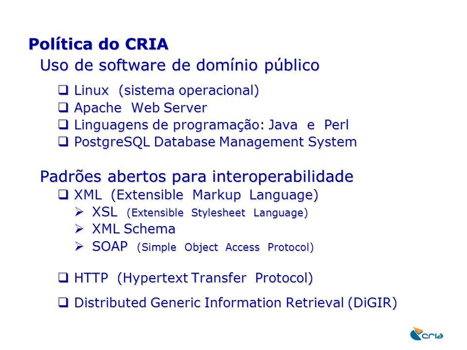 Uso de software de domínio público