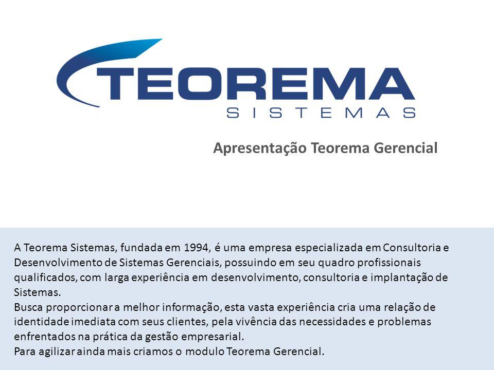 Apresentação Teorema Gerencial