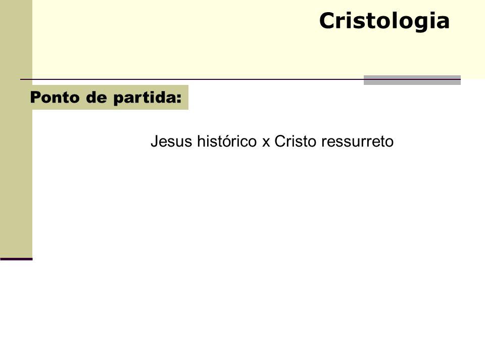 Jesus histórico x Cristo ressurreto