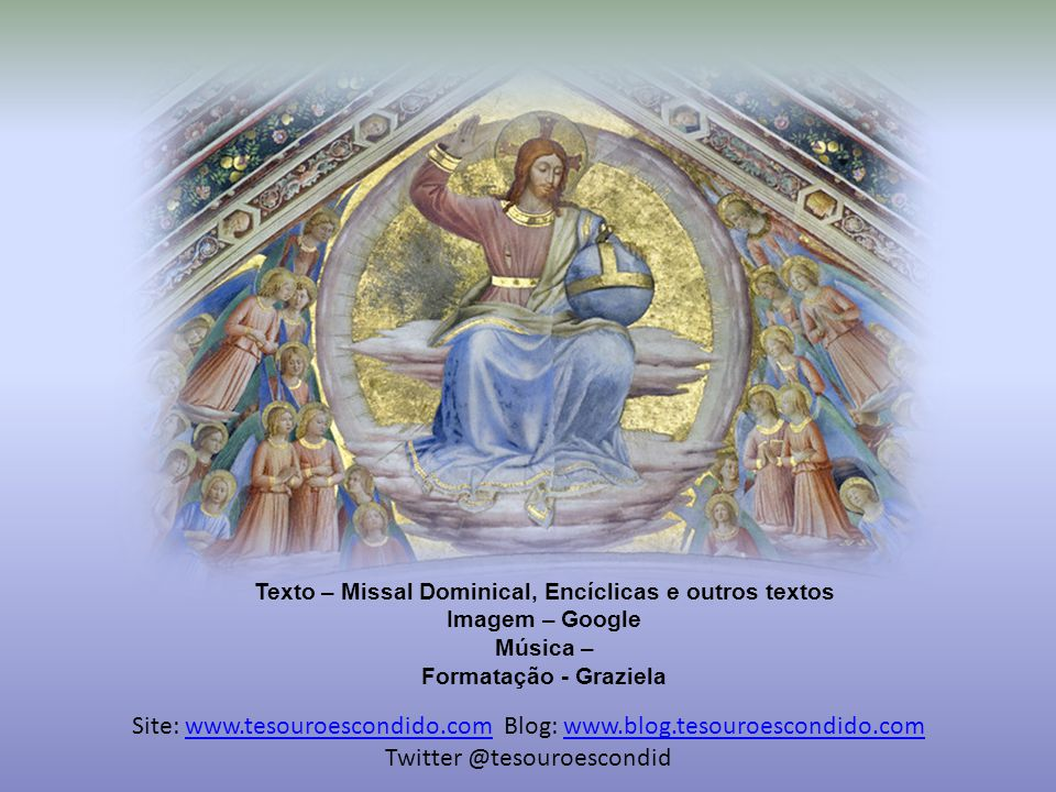 Texto – Missal Dominical, Encíclicas e outros textos