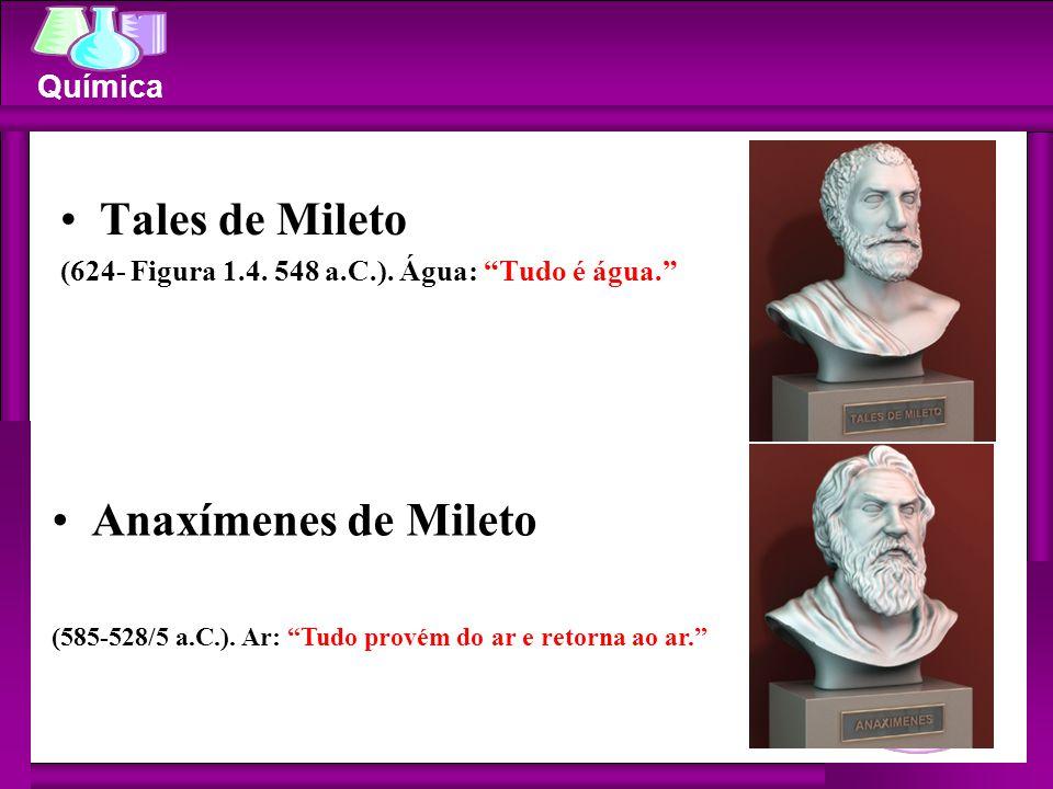 Tales de Mileto Anaxímenes de Mileto