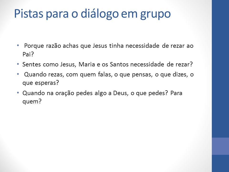 Pistas para o diálogo em grupo