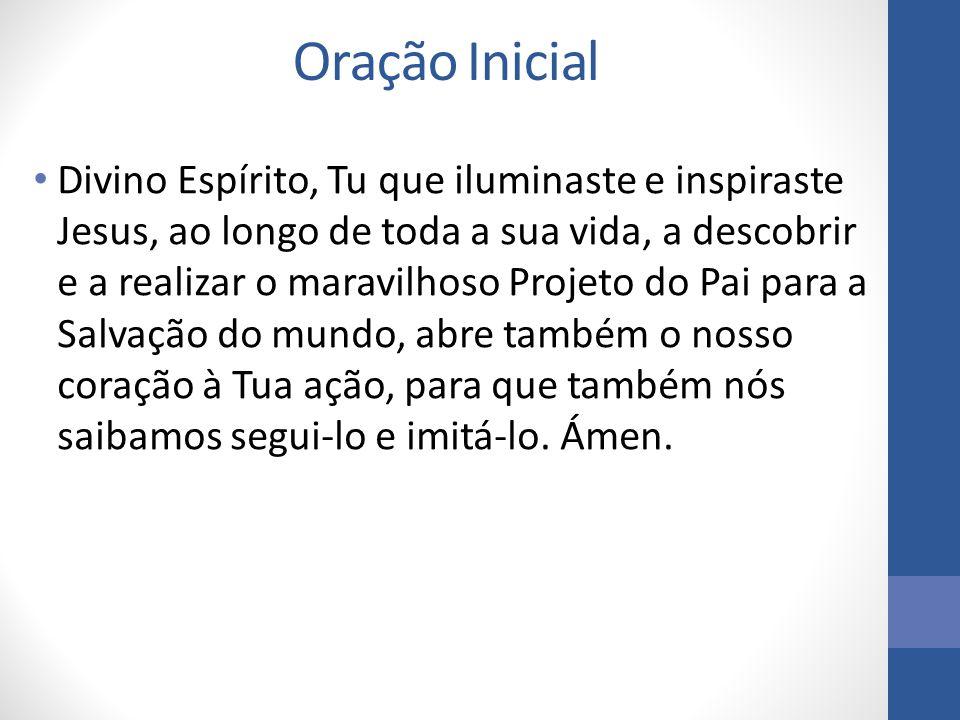 Oração Inicial