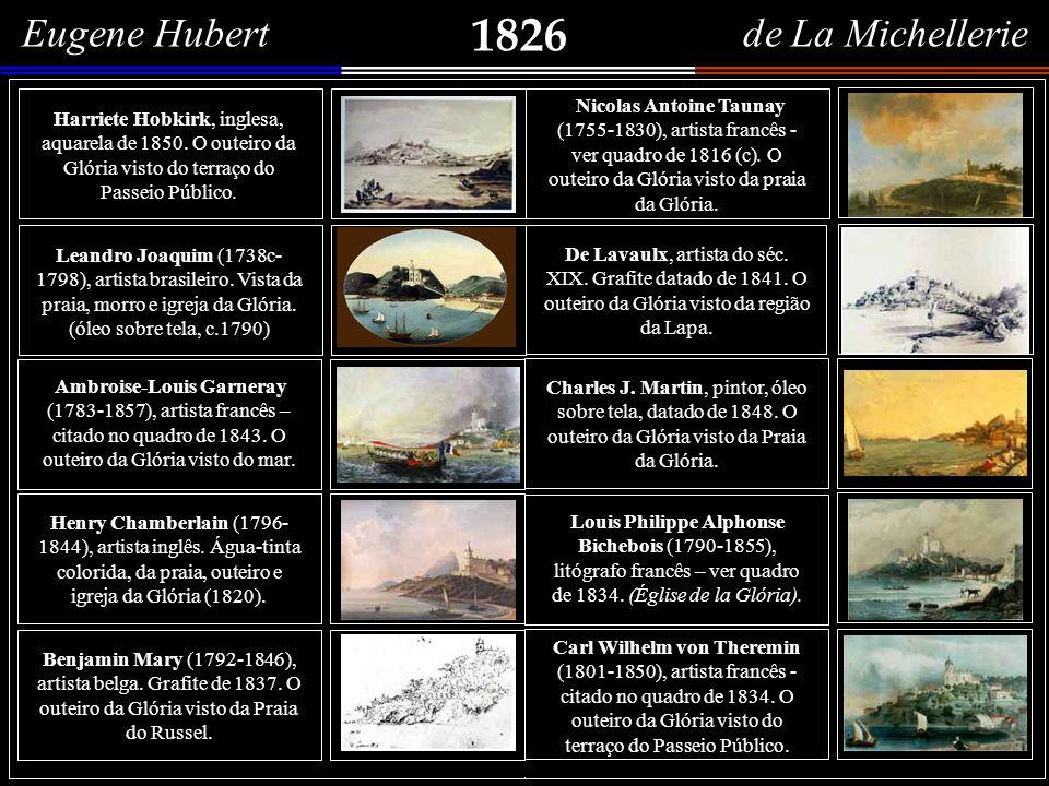 1826 Eugene Hubert de La Michellerie
