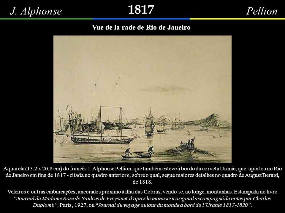 Vue de la rade de Rio de Janeiro