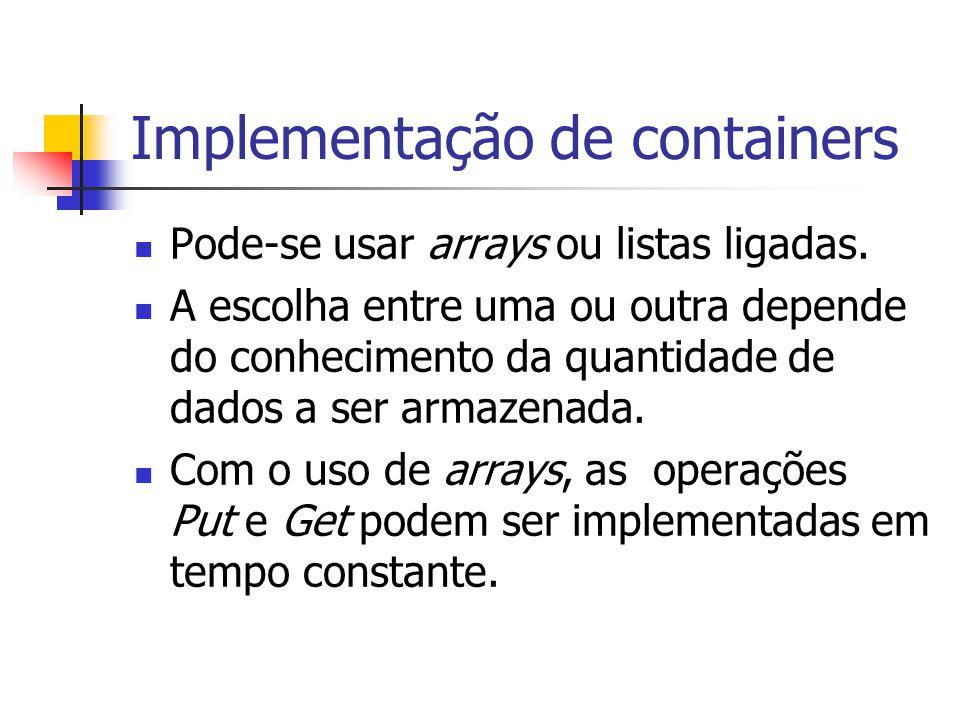 Implementação de containers