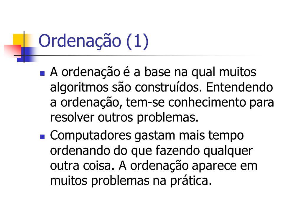 Ordenação (1)