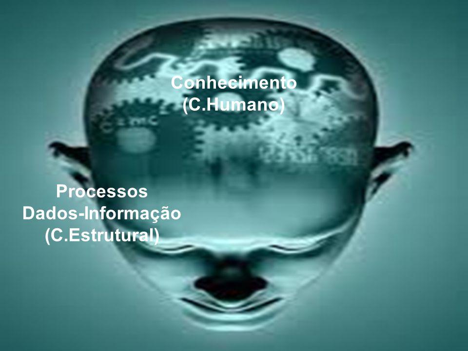Conhecimento (C.Humano) Processos Dados-Informação (C.Estrutural)