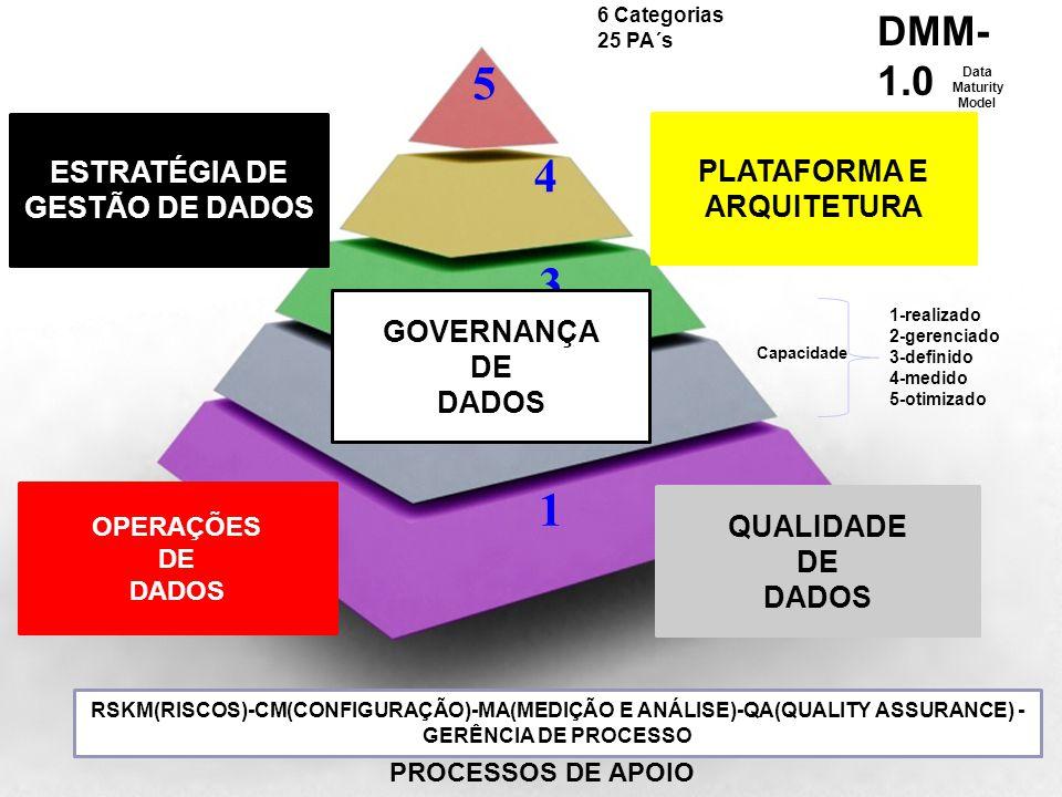 5 4 3 2 1 DMM-1.0 VISÃO GERAL NOS ANOS 200X ESTRATÉGIA DE PLATAFORMA E