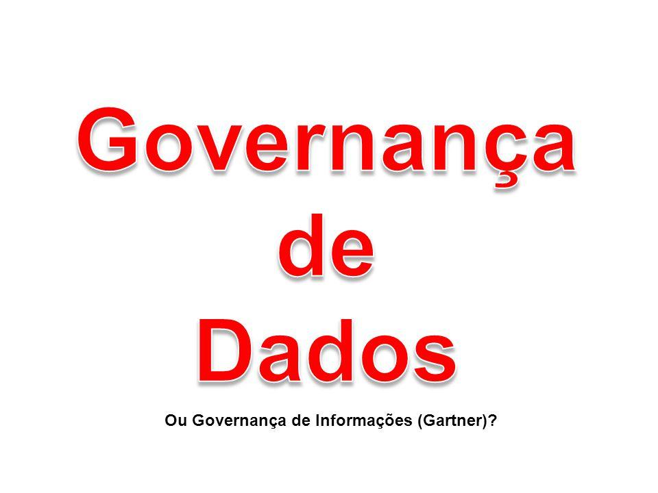 Governança de Dados Ou Governança de Informações (Gartner)