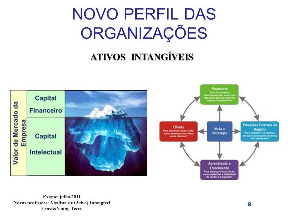NOVO PERFIL DAS ORGANIZAÇÕES