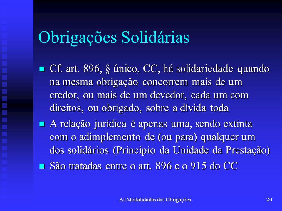 Obrigações Solidárias