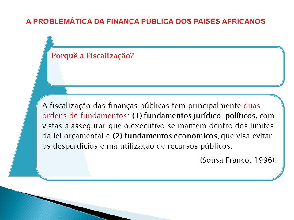 A PROBLEMÁTICA DA FINANÇA PÚBLICA DOS PAISES AFRICANOS