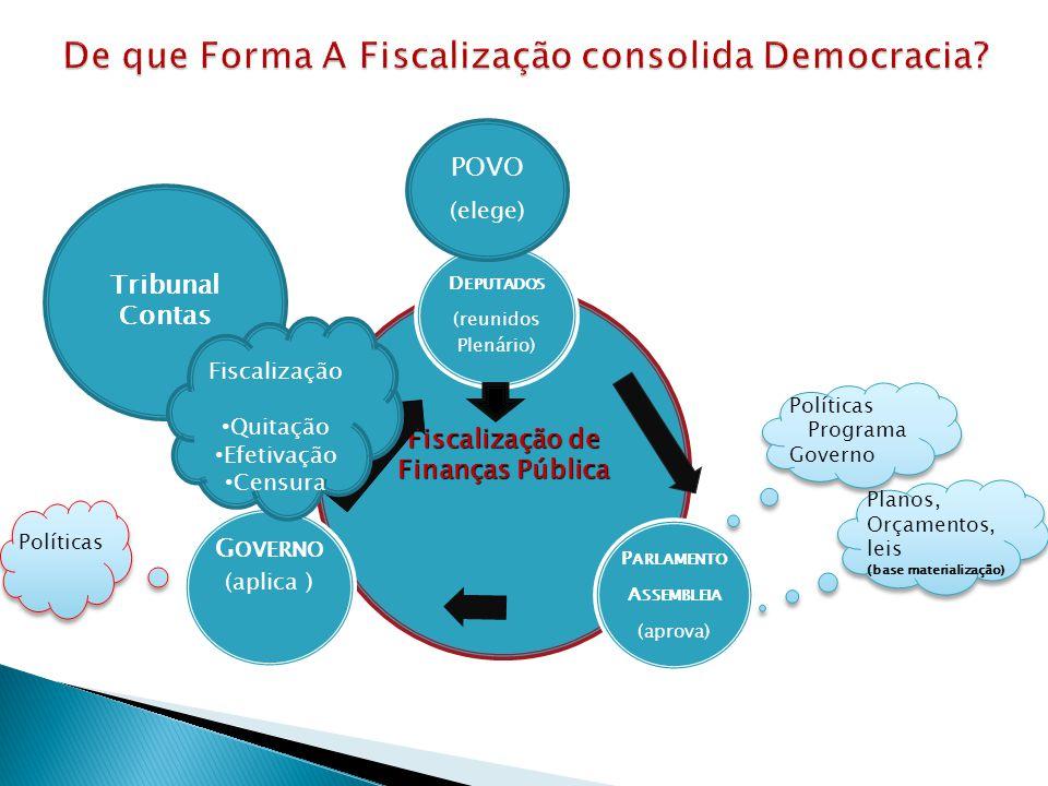 De que Forma A Fiscalização consolida Democracia