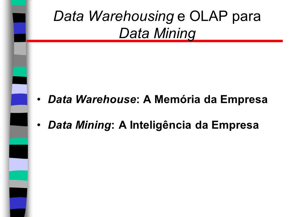 Data Warehousing e OLAP para Data Mining
