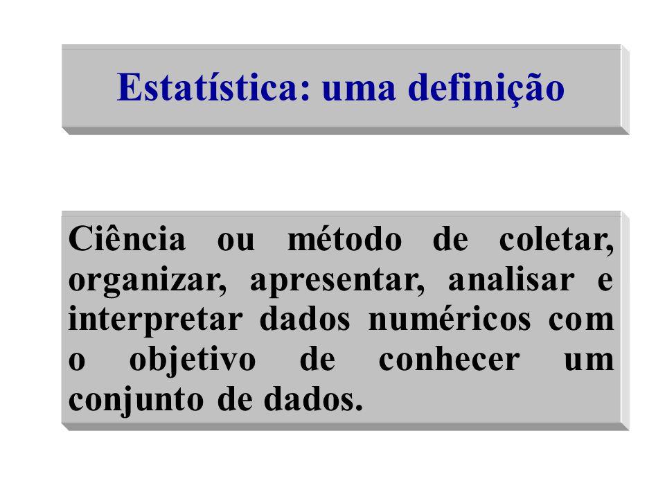 Estatística: uma definição