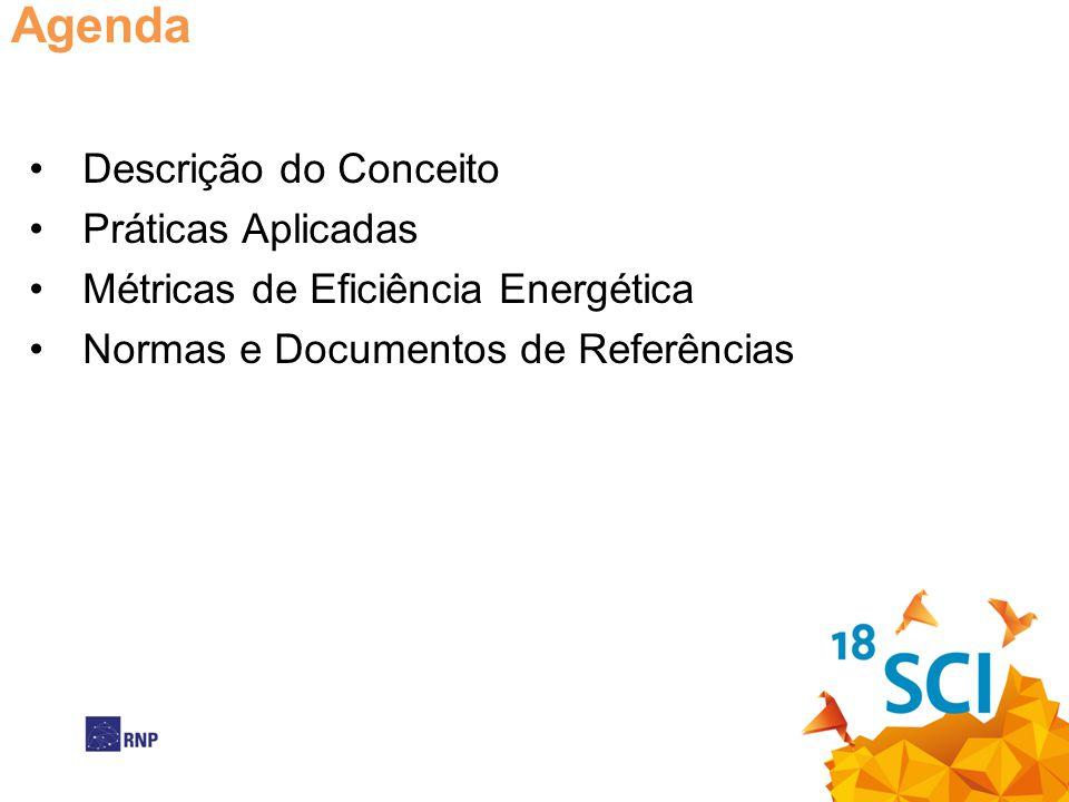 Agenda Descrição do Conceito Práticas Aplicadas