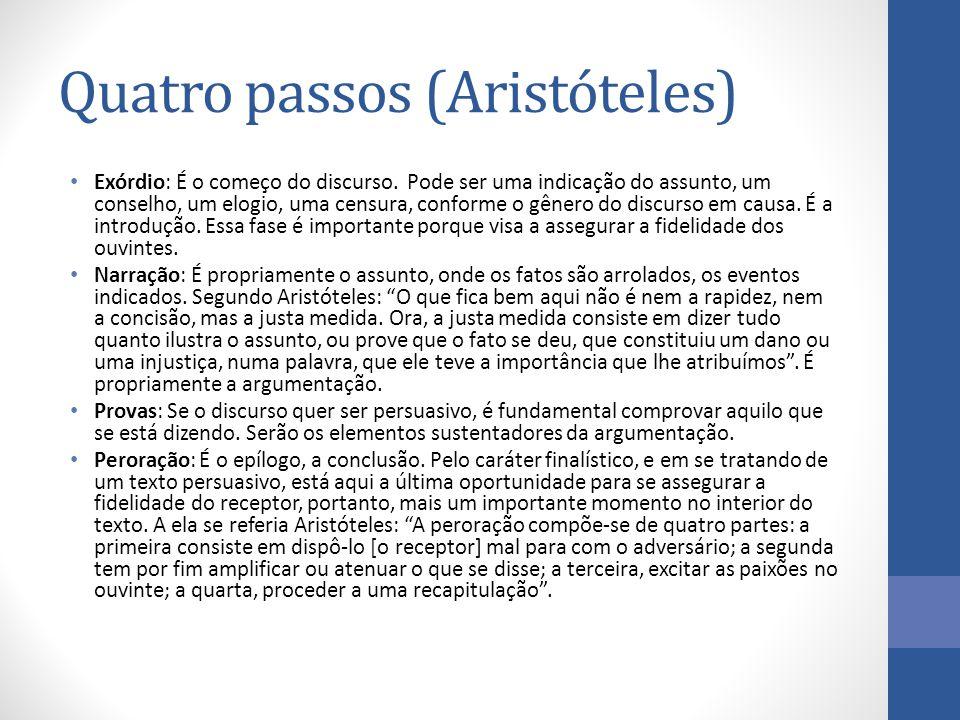 Quatro passos (Aristóteles)