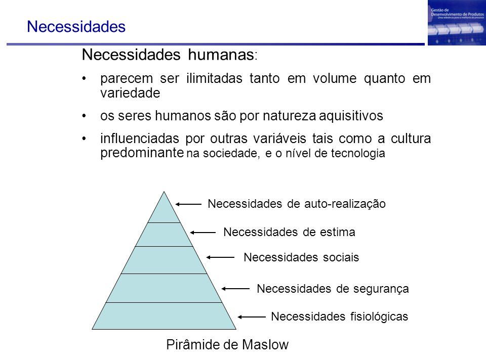 Necessidades humanas: