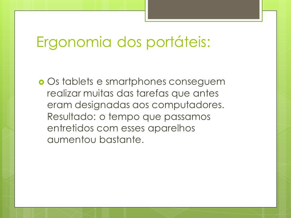 Ergonomia dos portáteis: