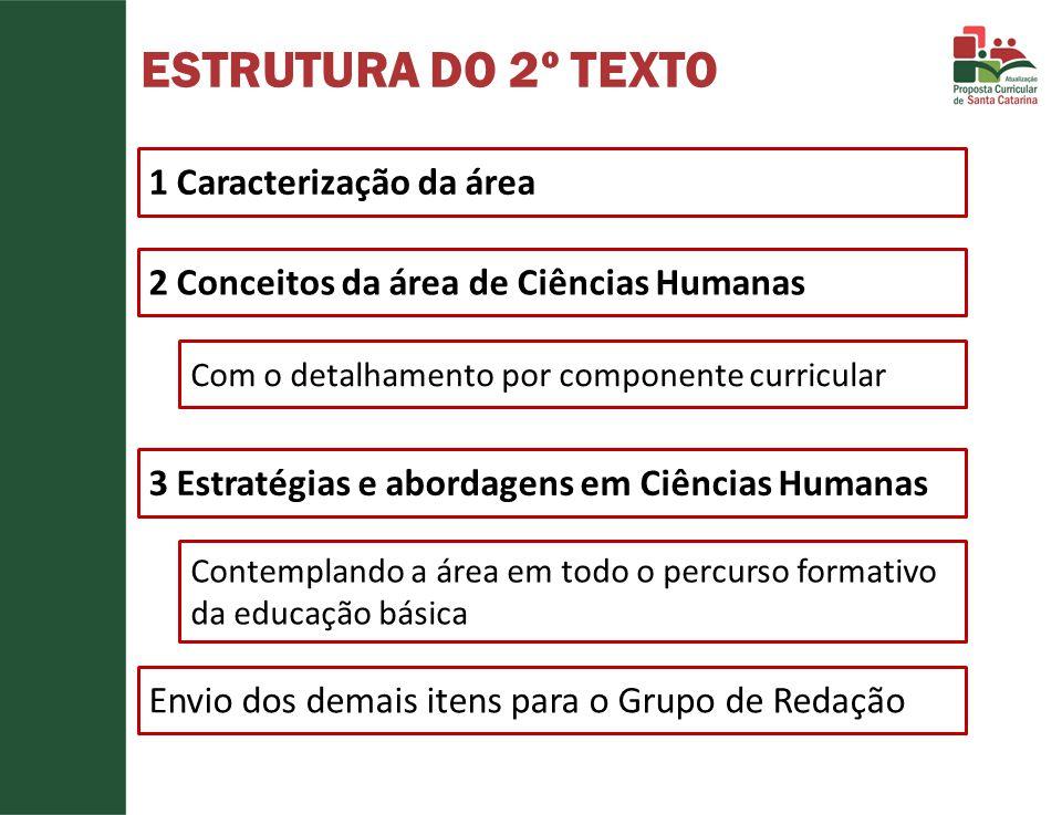 ESTRUTURA DO 2º TEXTO 1 Caracterização da área