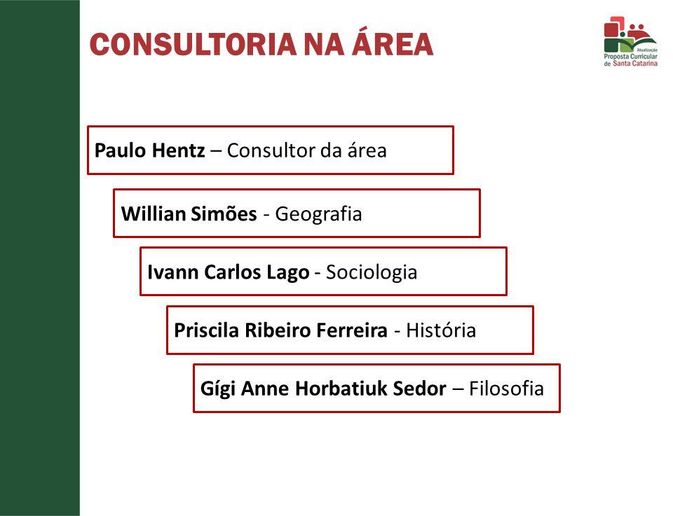 CONSULTORIA NA ÁREA Paulo Hentz – Consultor da área
