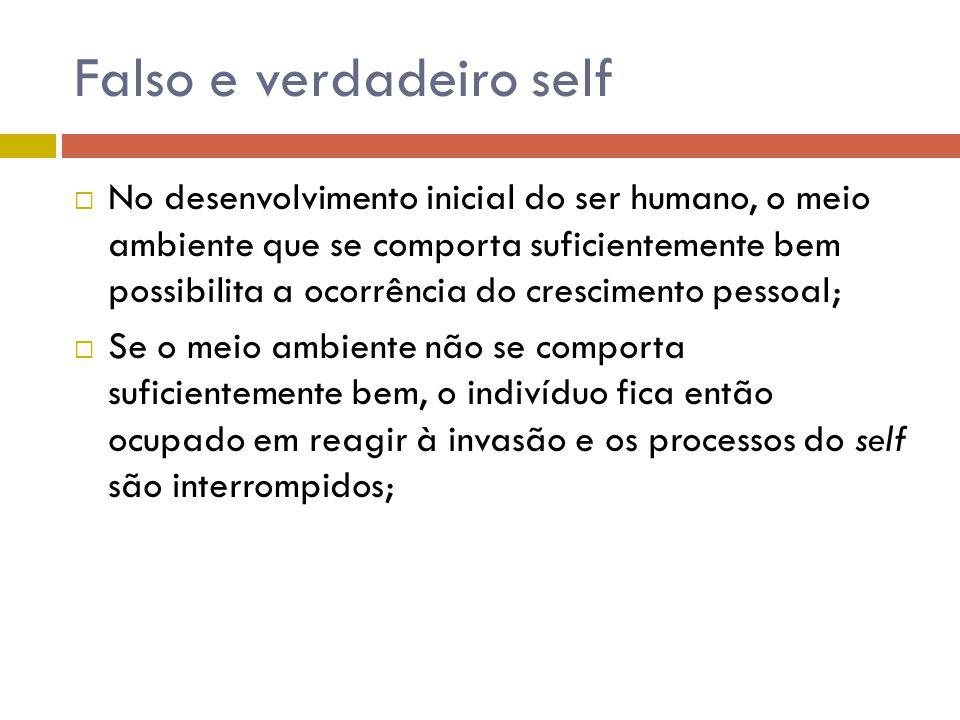 Falso e verdadeiro self